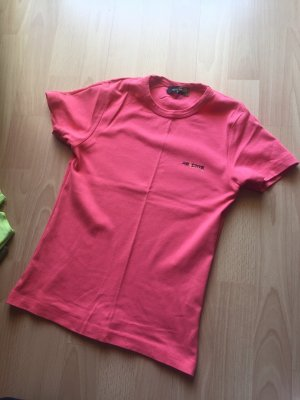 T-shirt rouge clair-rouge brique