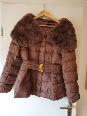 Attentif Paris Pelt Jacket bronze-colored-brown pelt