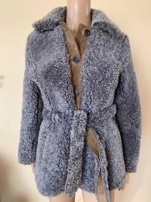 Real fur vintage coat