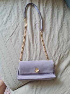 real Leather lavender Zara Bag
