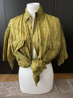 Real Vintage Blouse brillante multicolore