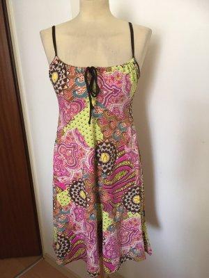 Real Vintage Kleid Boho Ibiza Hippie Gr 36 38