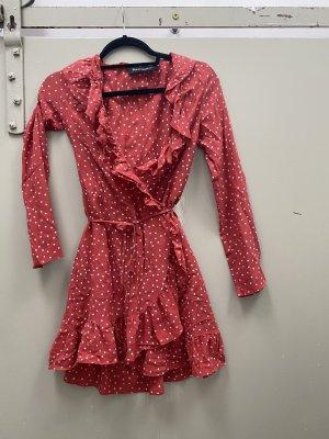 Realisation Par Kleid aus Australien rot Sterne Seide S