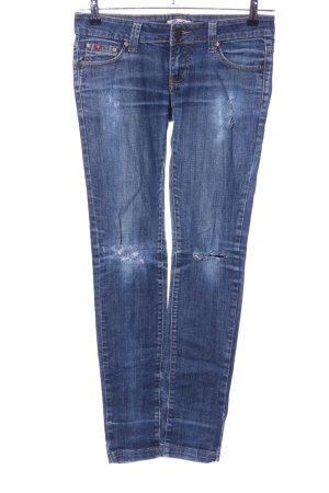 Reals Skinny Jeans blau Casual-Look