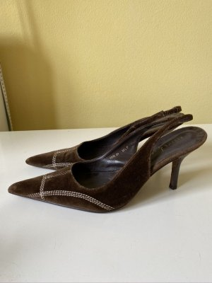 Rebeca Sanver Samt Sling Pumps Gr. 39,5