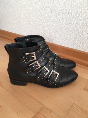 Rebecca Minkoff Boots in schwarz mit Nieten