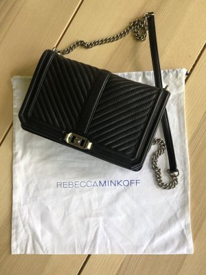 Rebecca Minkoff Chevron Quilted Slim Love Crossbody Bag
