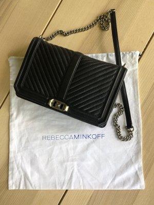 Rebecca Minkoff Chevron Quilted Slim Love Crossbody Bag