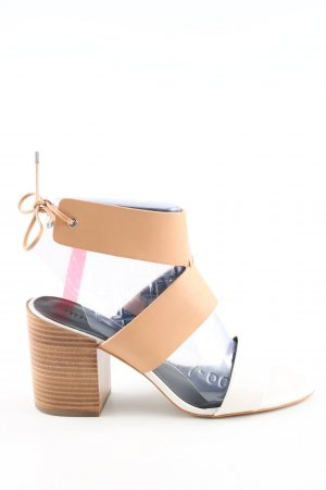 Rebecca Minkoff High Heel Sandaletten weiß-nude Casual-Look
