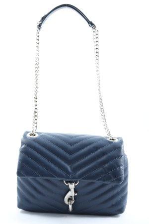 Rebecca Minkoff Minitasche blau Steppmuster Elegant