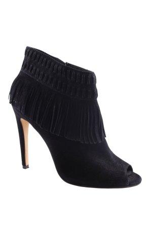 Rebecca Minkoff Peeptoe Pumps schwarz extravaganter Stil
