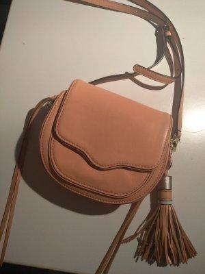 Rebecca Minkoff Tasche Handtasche Leder wie neu rosa altrosé umhängetasche