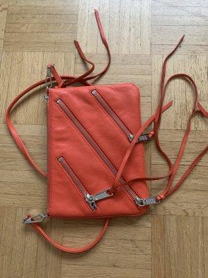 Rebecca Minkoff Borsetta arancio neon Pelle