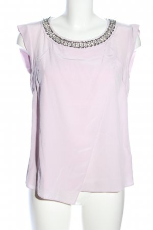 Rebecca taylor ärmellose Bluse pink Business-Look