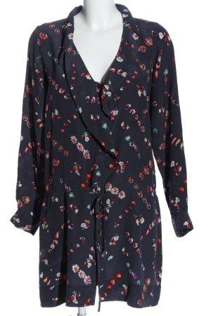 Rebecca taylor Robe chemise motif abstrait style décontracté