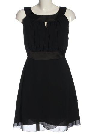 Reber A-Linien Kleid schwarz Elegant