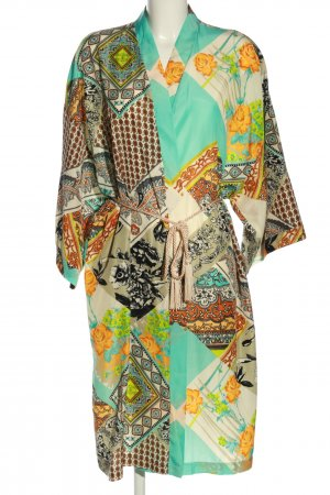 Reclaimed Vintage Kimono Allover-Druck Casual-Look