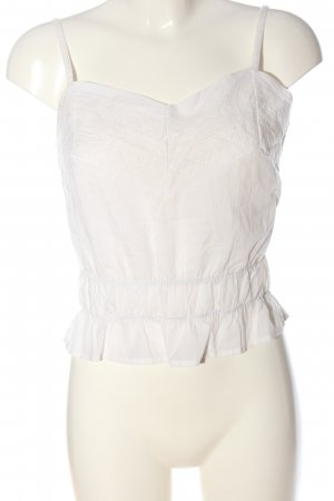 Reclaimed Vintage Spaghetti Strap Top white casual look