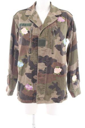Reclaimed Vintage Übergangsjacke Camouflagemuster Casual-Look