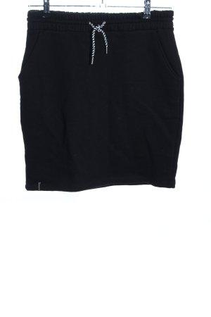 recolution Jupe tricotée noir style décontracté
