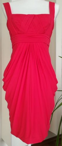 BCBG Maxazria Sukienka z rękawem balonowym czerwony