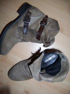 RED BOXX Stiefelette Boots mit Schnallen Gr. 38 (37) Neuwertig
