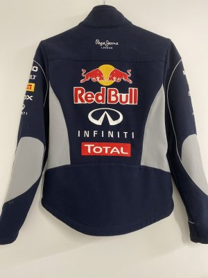 Red Bull Collection Chaqueta softshell azul oscuro