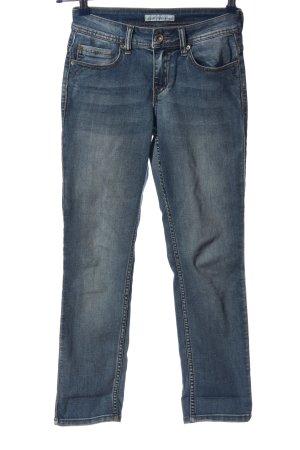 Red Button High Waist Jeans