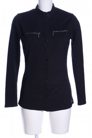 Red Button Shirtjacke schwarz Casual-Look