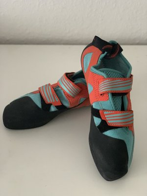 Red Chili Velcro Sneakers turquoise-orange