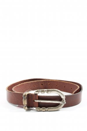 red label Leather Belt brown casual look