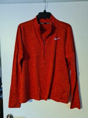 Red Nike Half Zip
