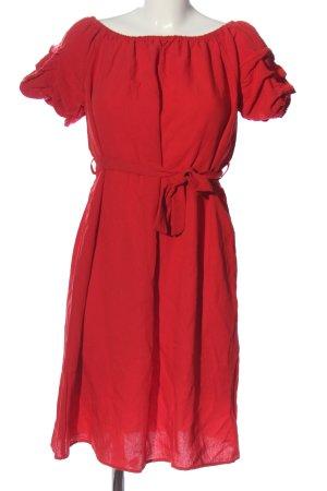 Red Queen Kurzarmkleid rot Casual-Look