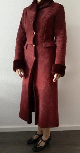 Blumarine Płaszcz zimowy bordo