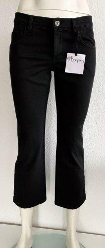 RED VALENTINO 7/8 Jeans Gr. 27 schwarz Logo