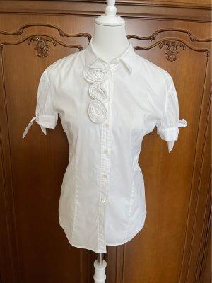 RED Valentino Short Sleeved Blouse white