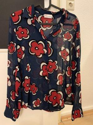 RED Valentino Silk Blouse multicolored