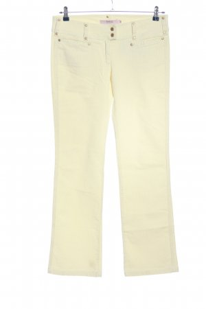 RED Valentino Corduroy Trousers cream casual look