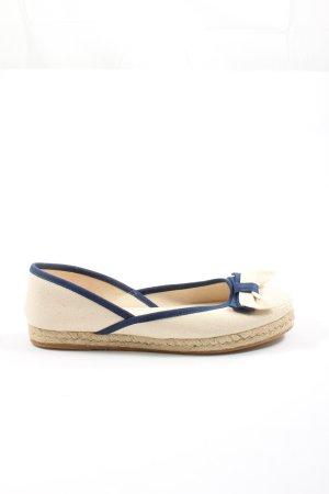 RED Valentino Espadrille sandalen wolwit-blauw elegant