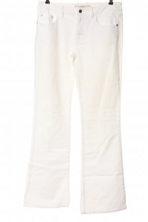 RED Valentino Denim Flares white casual look