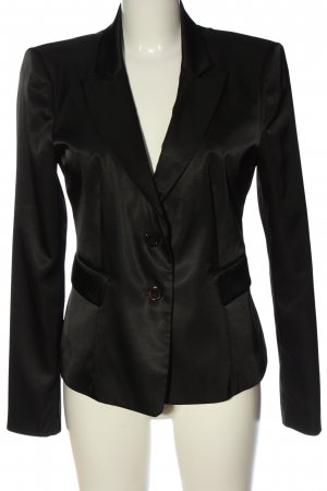 RED Valentino Kurz-Blazer schwarz Business-Look