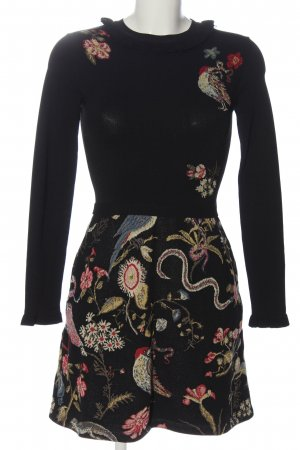 RED Valentino Langarmkleid Blumenmuster Casual-Look