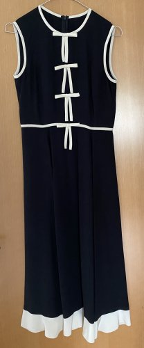 Red Valentino Seidenkleid in schwarz ital. Größe 38 (=34)