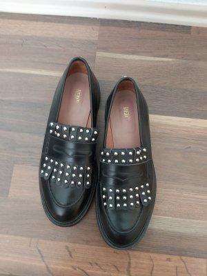 RED Valentino Pantofola nero-argento