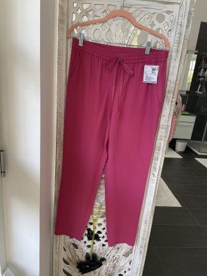 RED Valentino Baggy Pants magenta acetate