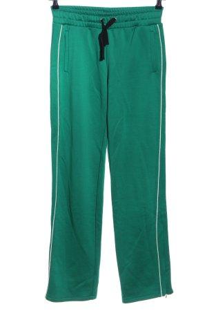 RED Valentino Sweathose grün Casual-Look