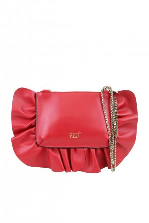 Red Valentino Umhängetasche in Rot aus Leder