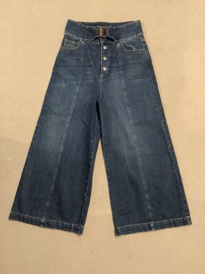 RED Valentino Hoge taille jeans staalblauw Katoen