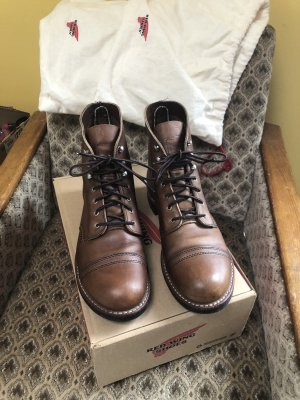 Red Wing Shoes Ankle Boots brown