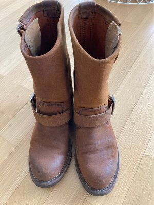 Red Wing Shoes Buty zimowe cognac